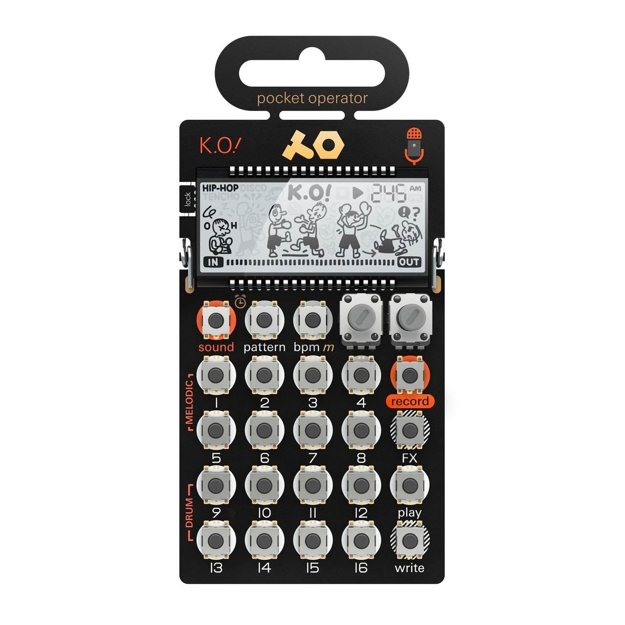 Desktop Synthesizers - Teenage Engineering PO-33 K.O Micro Sampler