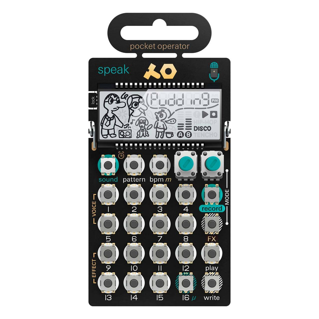 Desktop Synthesizers - Teenage Engineering PO-35 Speak Vocal Synthesizer & Sequencer