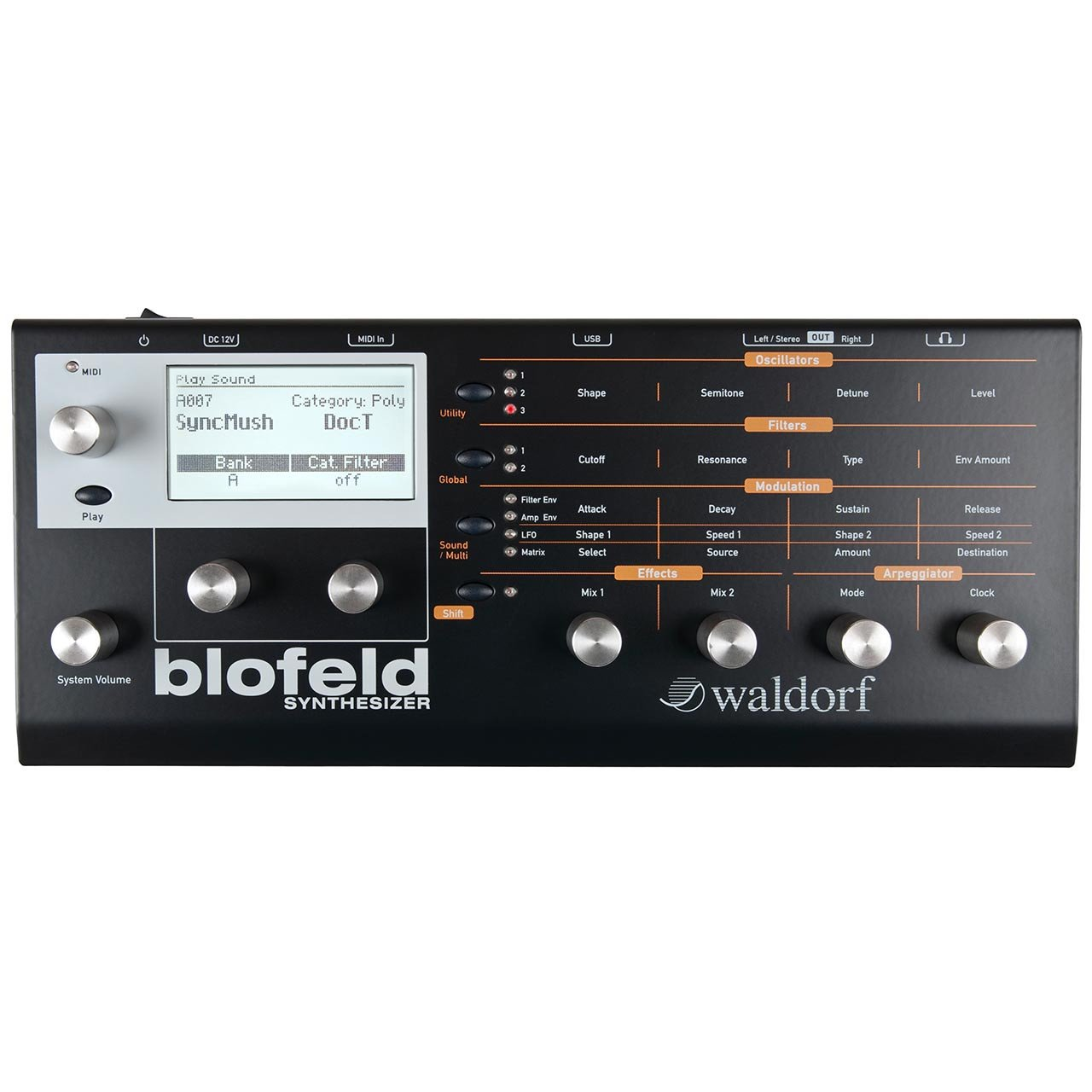 Waldorf Blofeld Desktop Digital Synthesizer