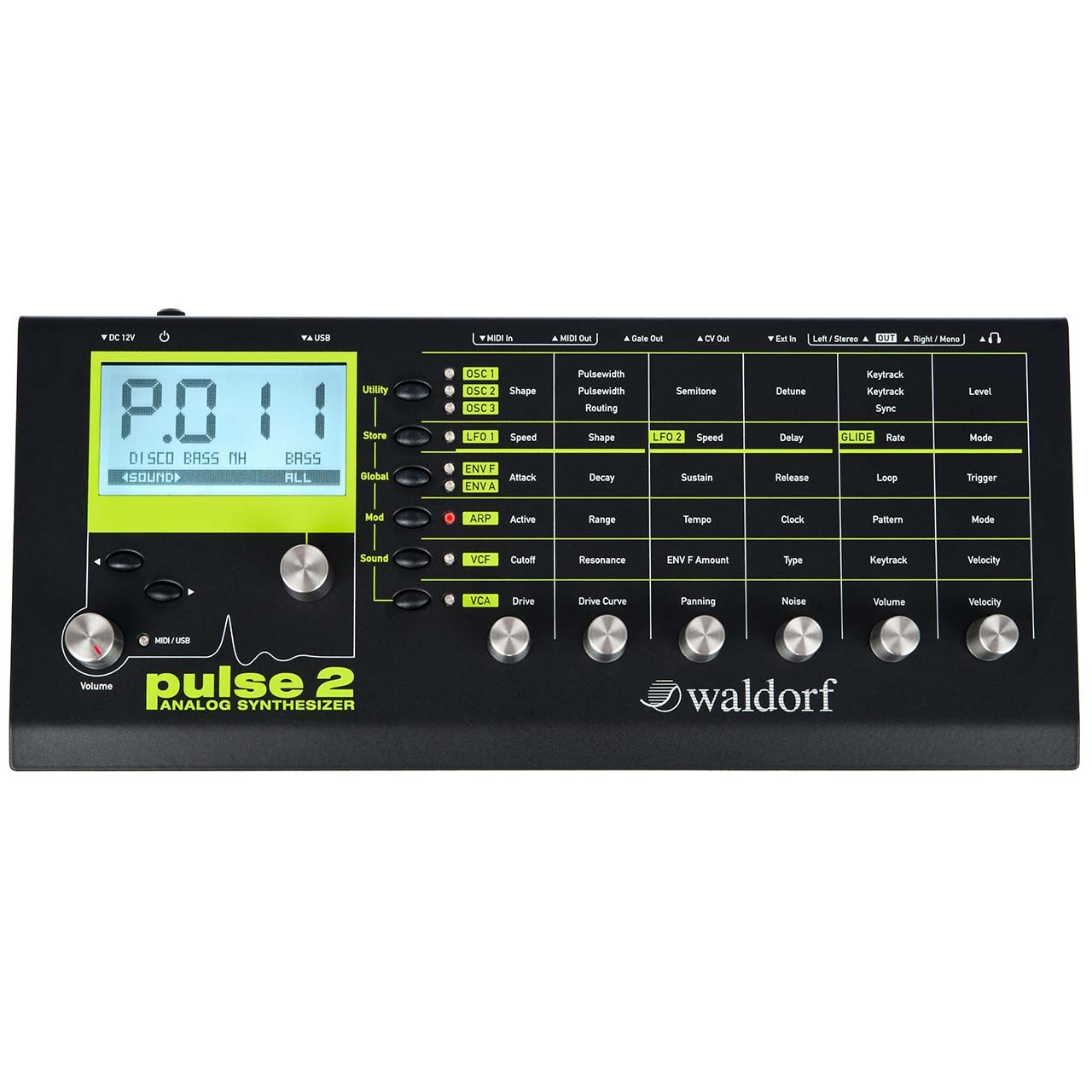 Waldorf Pulse 2 Desktop Analog Synthesizer