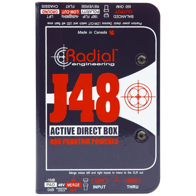 DI Boxes - Radial J48 - Active DI
