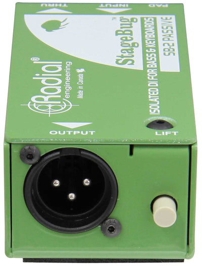 DI Boxes - Radial SB-2 Compact Passive DI For Bass & Keyboard