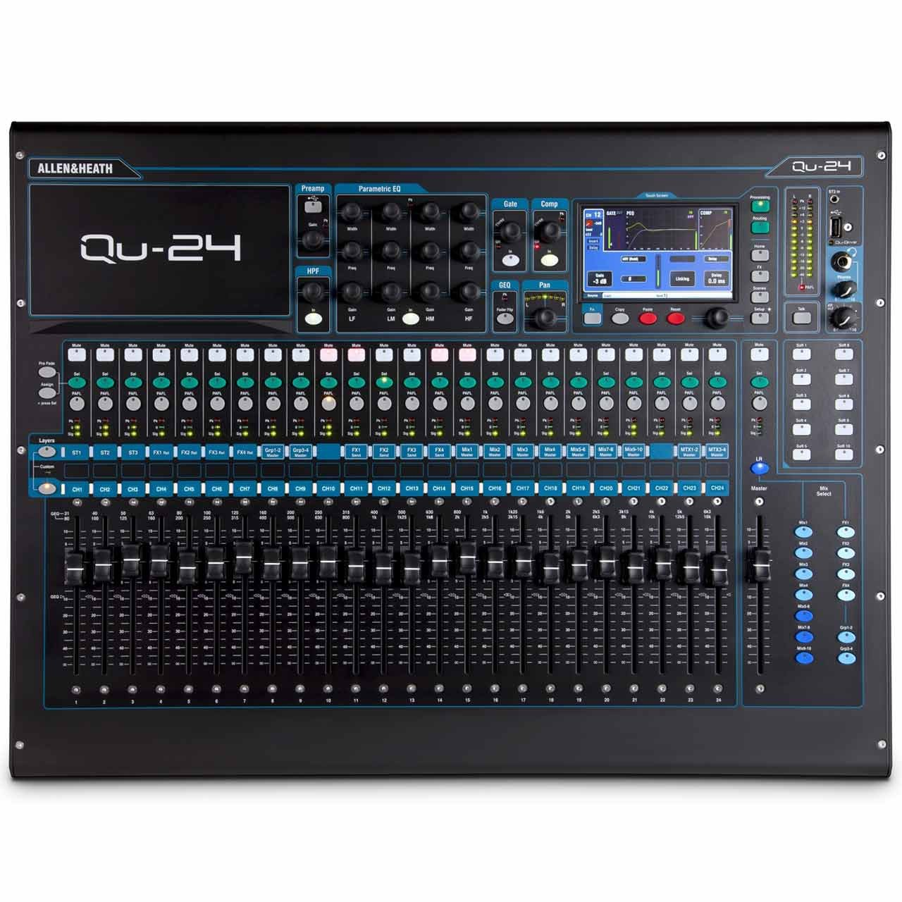 Digital Mixers - Allen & Heath QU-24 Digital Mixer