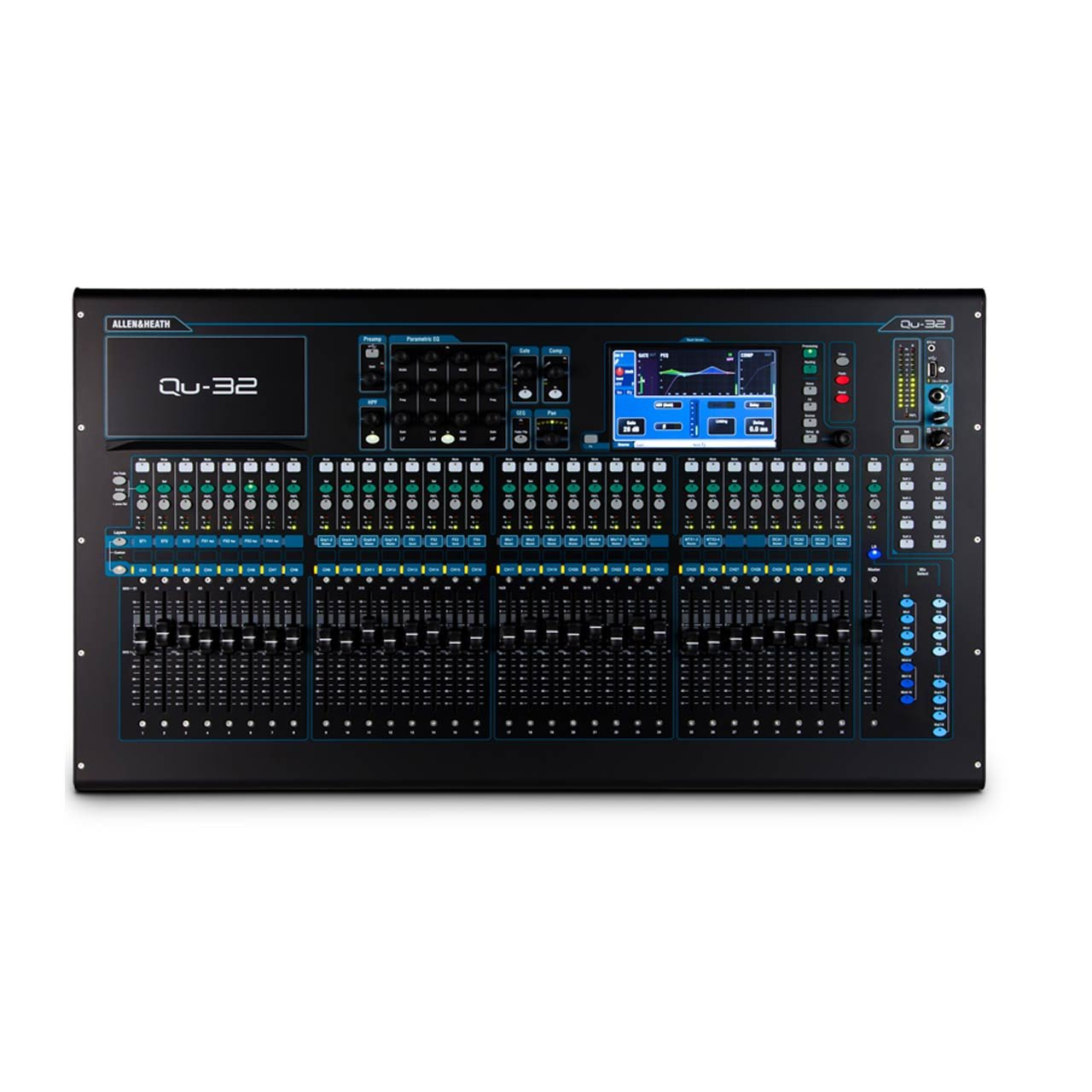 Digital Mixers - Allen & Heath Qu-32 Digital Console