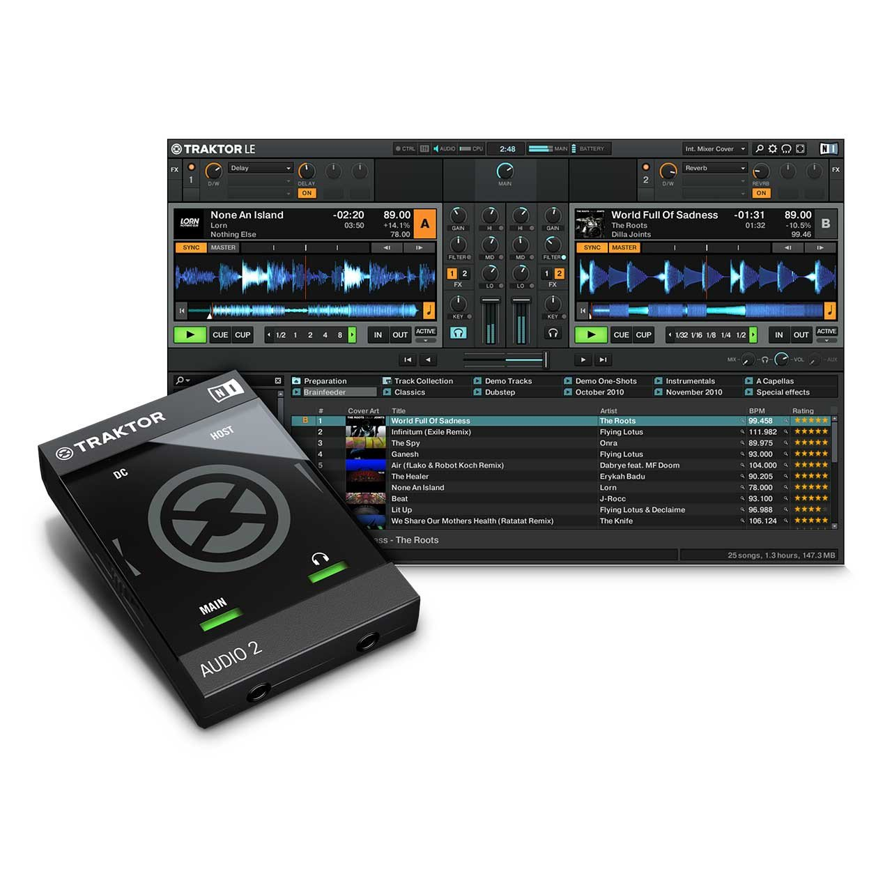 DJ Audio Interfaces - Native Instruments Traktor Audio 2 Audio Interface