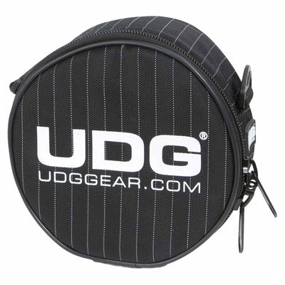 DJ Bags & Cases - UDG Ultimate Headphone Bag Black/Grey Stripe - SKU: U9960BG