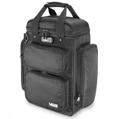 DJ Bags & Cases - UDG Ultimate ProducerBag Large Black/Orange Inside - SKU: U9022BL/OR