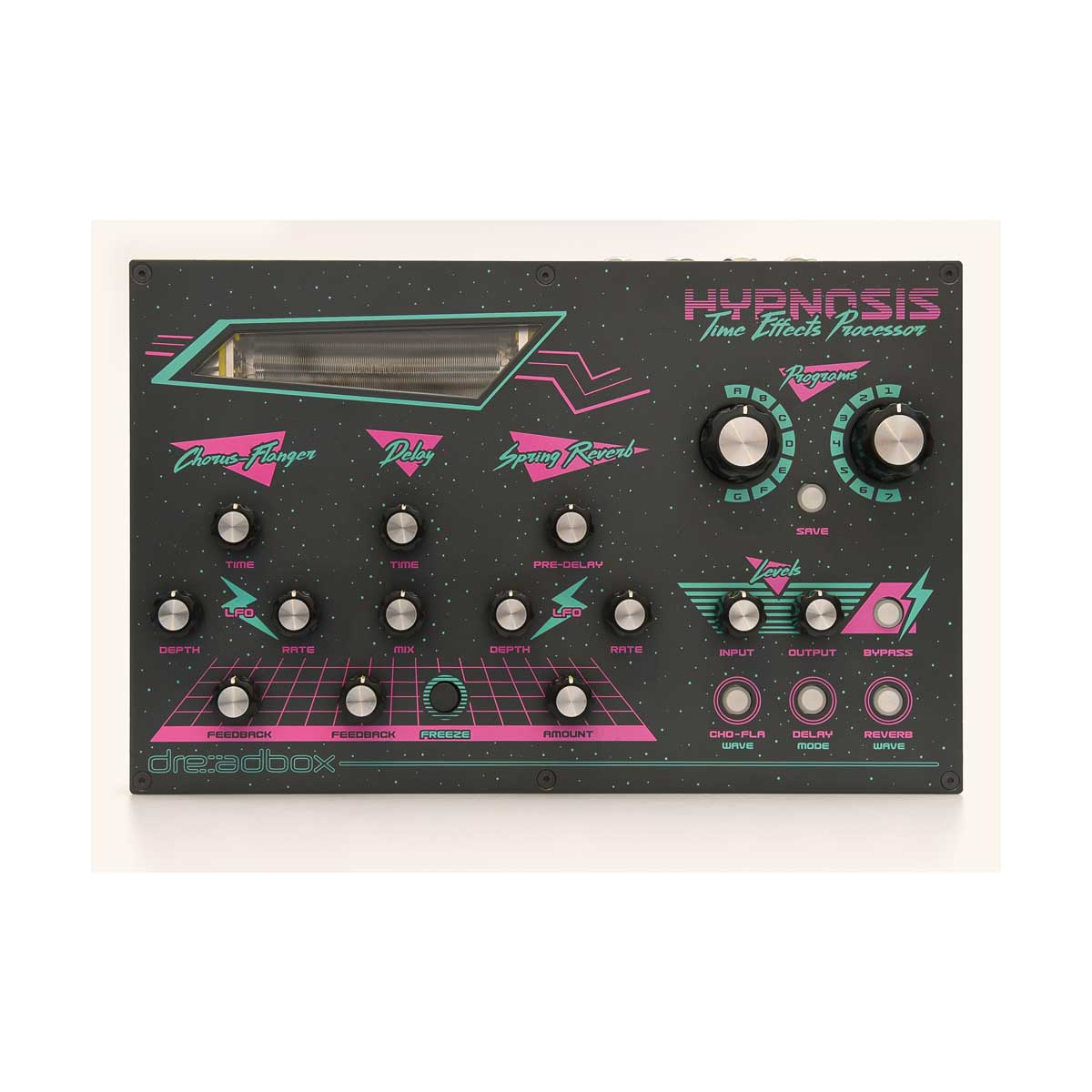 Dreadbox Hypnosis Time Effects Processor with 3 Independent Effects