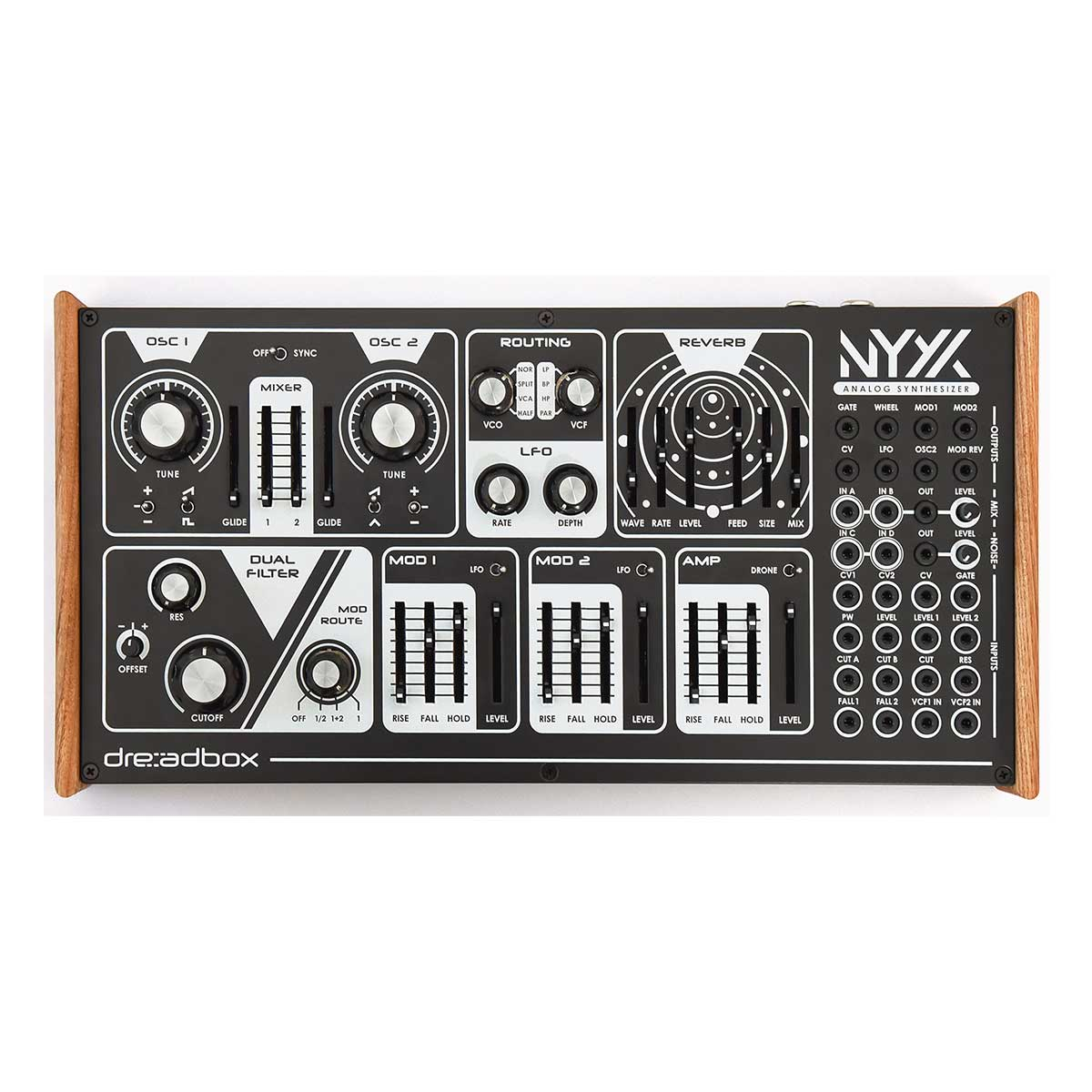 Dreadbox Nyx V2 Duophonic Synthesizer