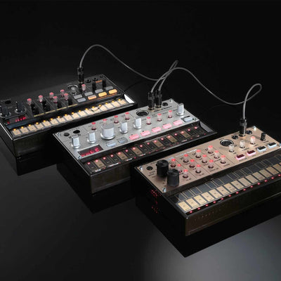 Drum Machines - Korg Volca Beats Analog Drum Synthesizer & Sequencer