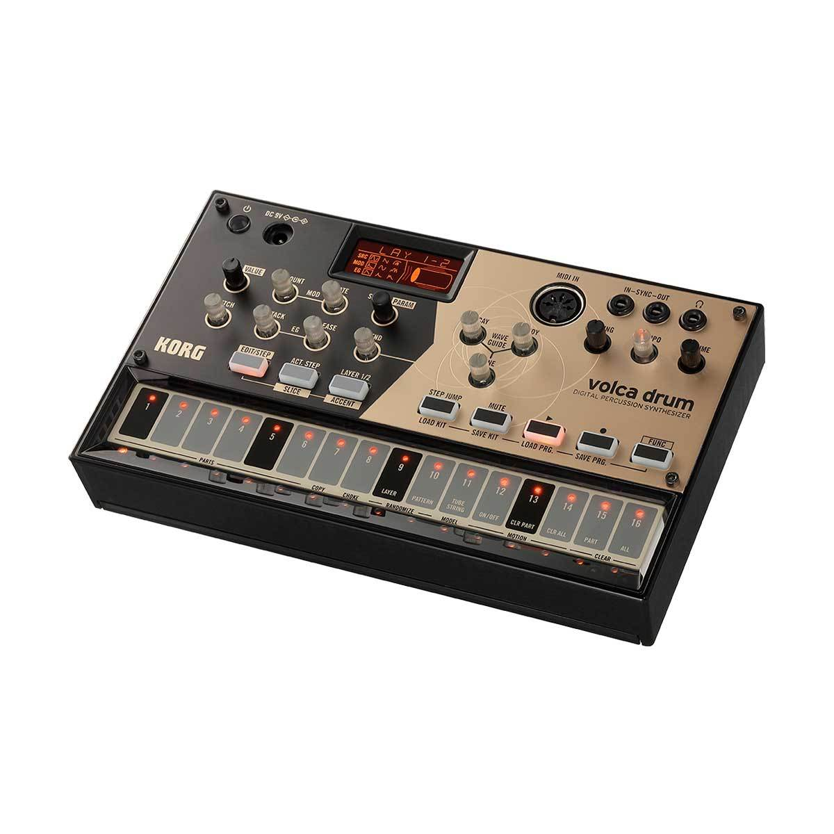 Drum Machines - Korg Volca Drum Digital Percussion Synthesizer
