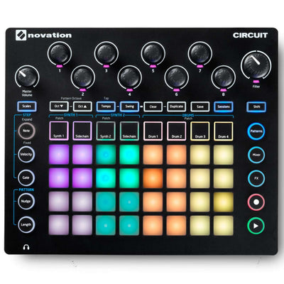 Drum Machines - Novation Circuit - Drum Machine, Synth, Sequencer & Controller