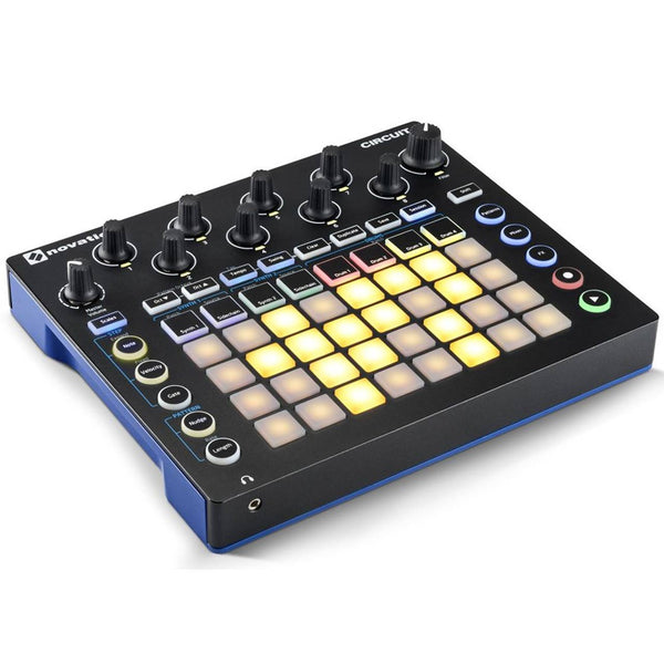 novation circuit drum machine synth sequencer sounds easy. Black Bedroom Furniture Sets. Home Design Ideas