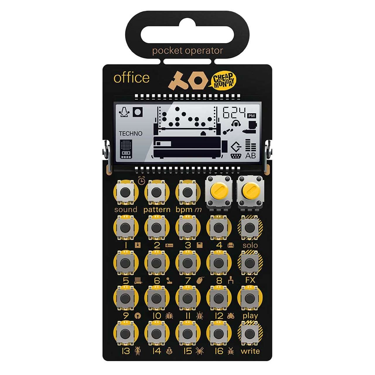 Drum Machines - Teenage Engineering PO-24 Office Pocket Operator