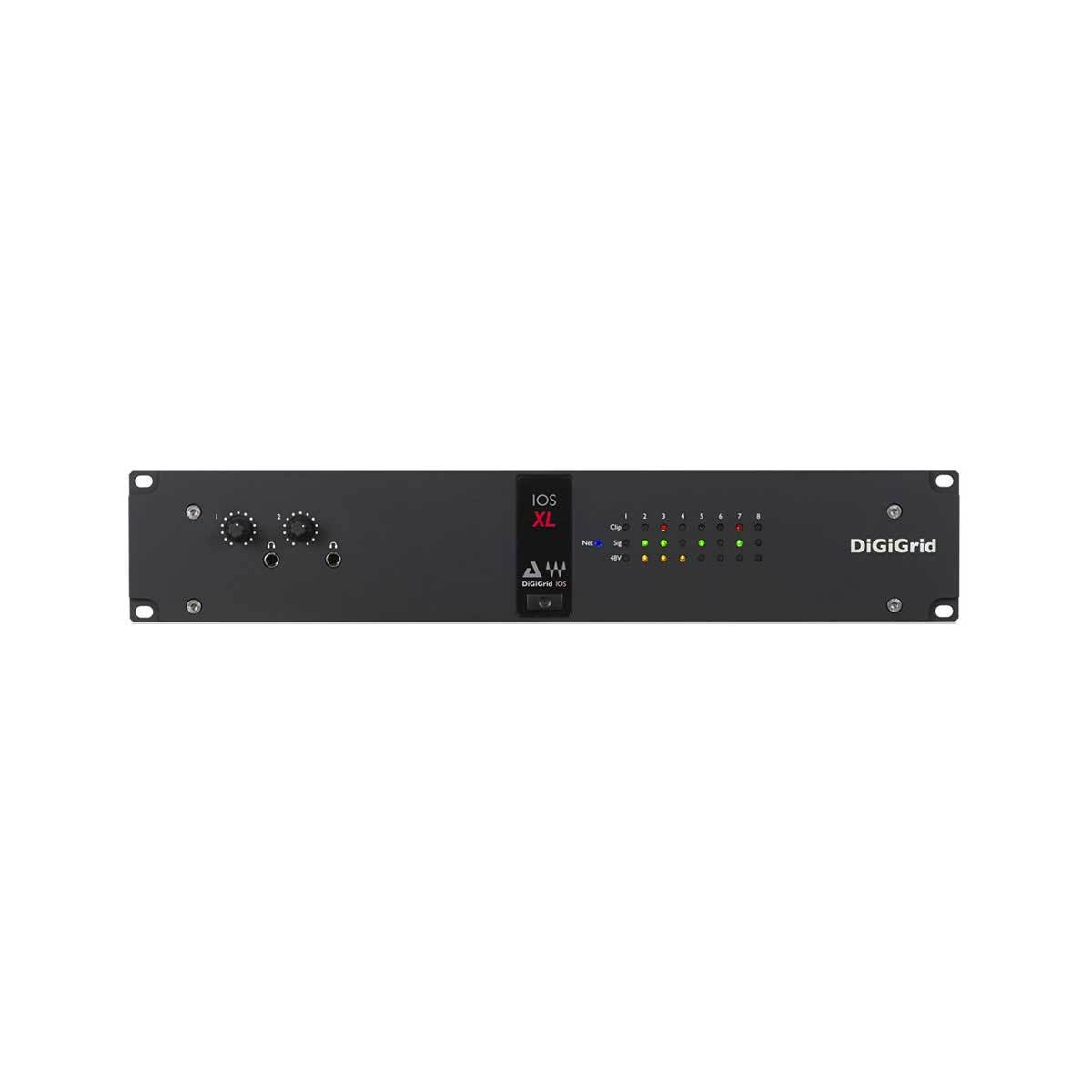 DSP Hardware - DiGiGrid IOS-XL Integrated Audio Interface With I7V3 Extreme Soundgrid DSP Server