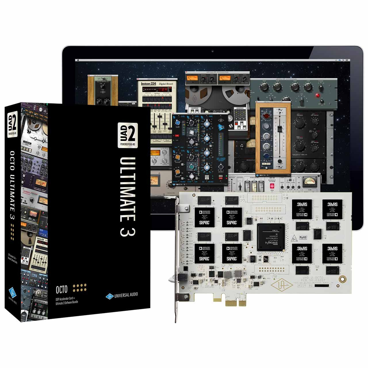 DSP Hardware - Universal Audio UAD-2 Octo Ultimate 3 PCIe