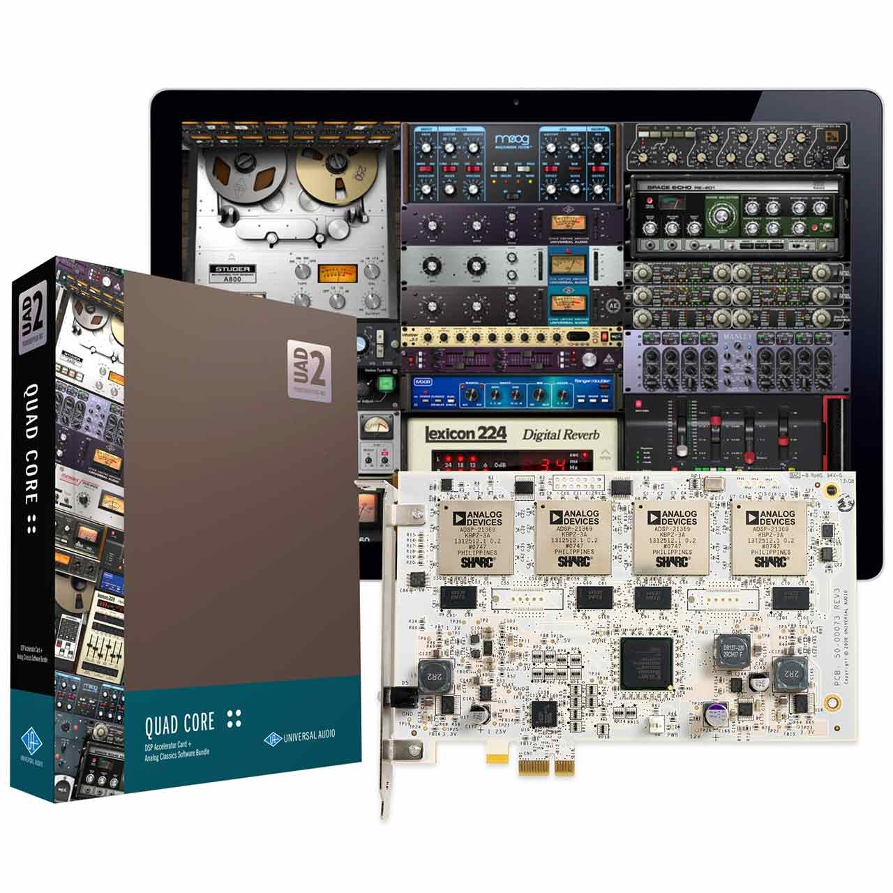 DSP Hardware - Universal Audio UAD-2 Quad CORE PCIe DSP Card
