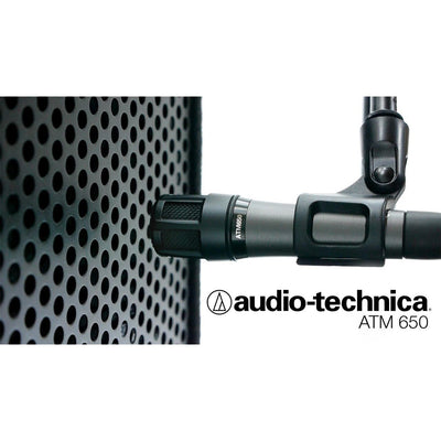 Dynamic Microphones - Audio-Technica ATM650 - Hypercardioid Dynamic Instrument And High SPL Mic