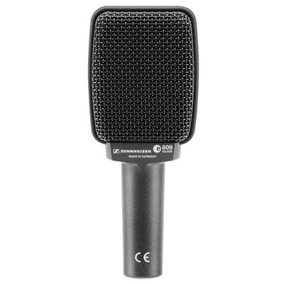 Dynamic Microphones - Sennheiser E 609 SILVER Dynamic Instrument Microphone