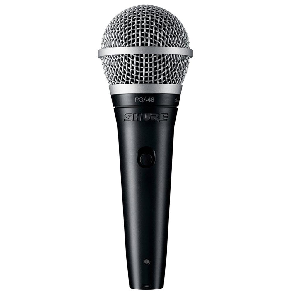 Dynamic Microphones - Shure PGA48-XLR Vocal Cardioid Dynamic Microphone With XLR-XLR Cable