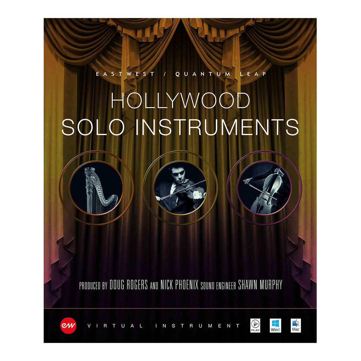 EastWest Hollywood Solo Instruments Diamond Bundle - Serial Nr + Software Download Version