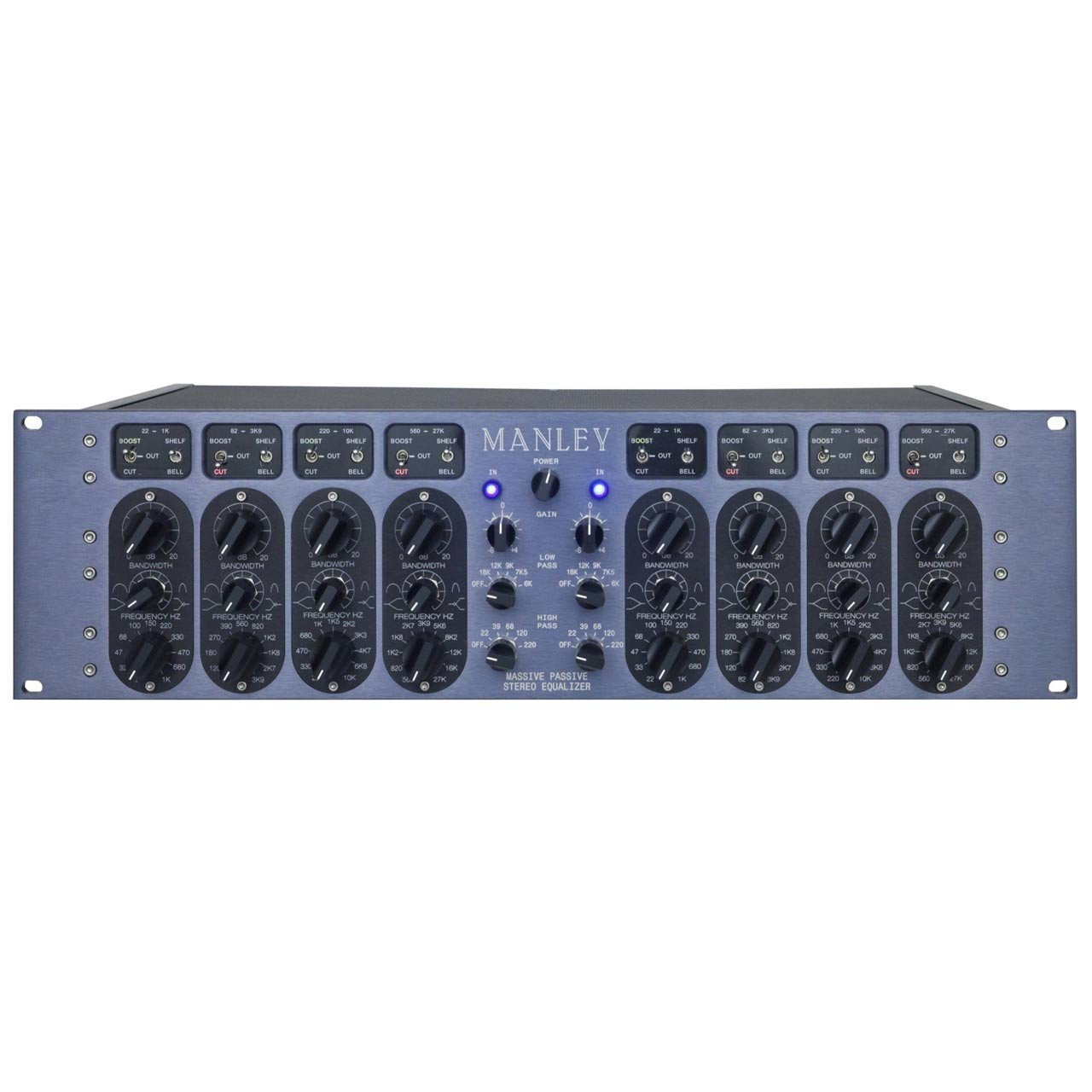 Manley Massive Passive EQ 2-channel 4-band Equalizer