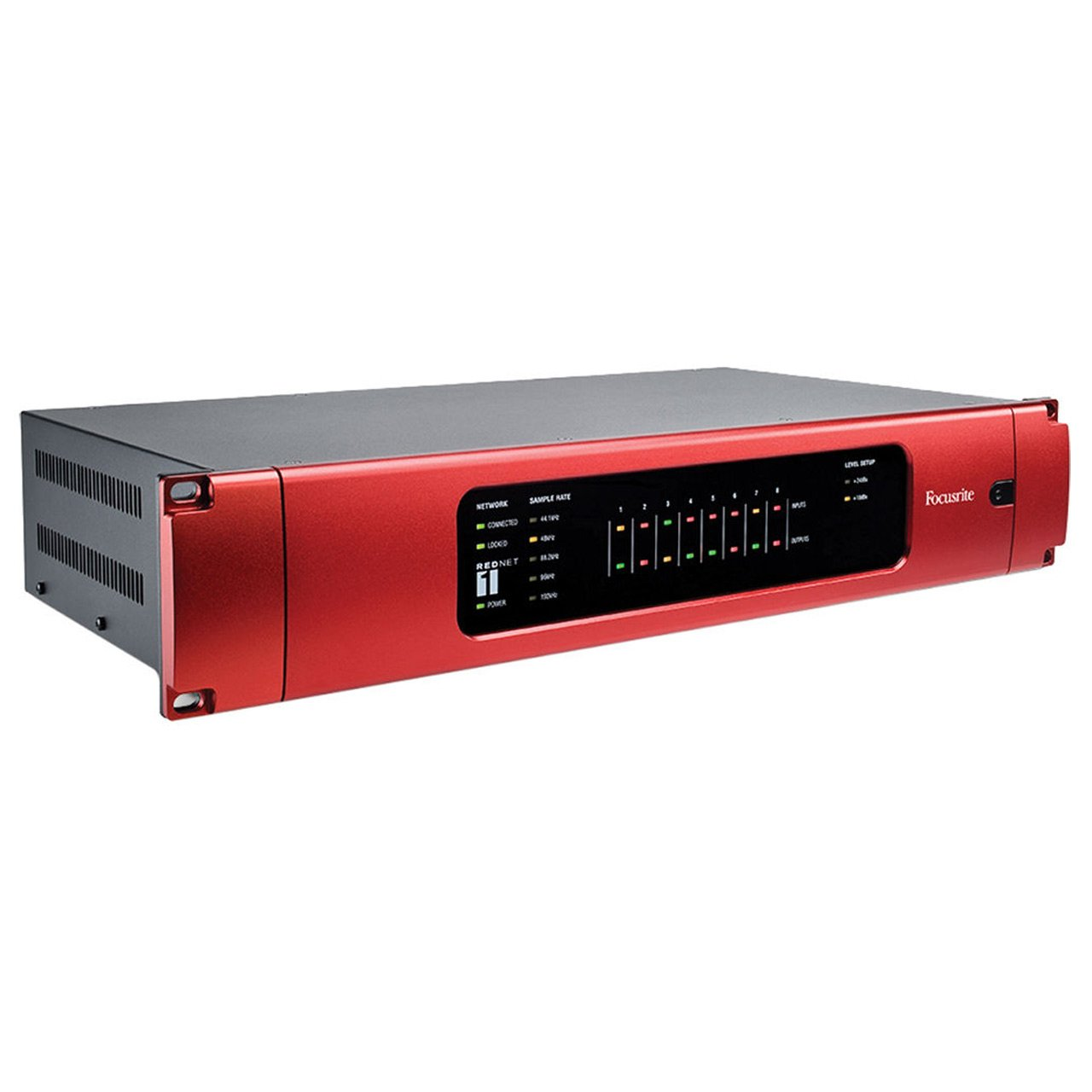 Ethernet Audio Interfaces - Focusrite RedNet 1 - 8-channel A-D/D-A Ethernet Audio Interface