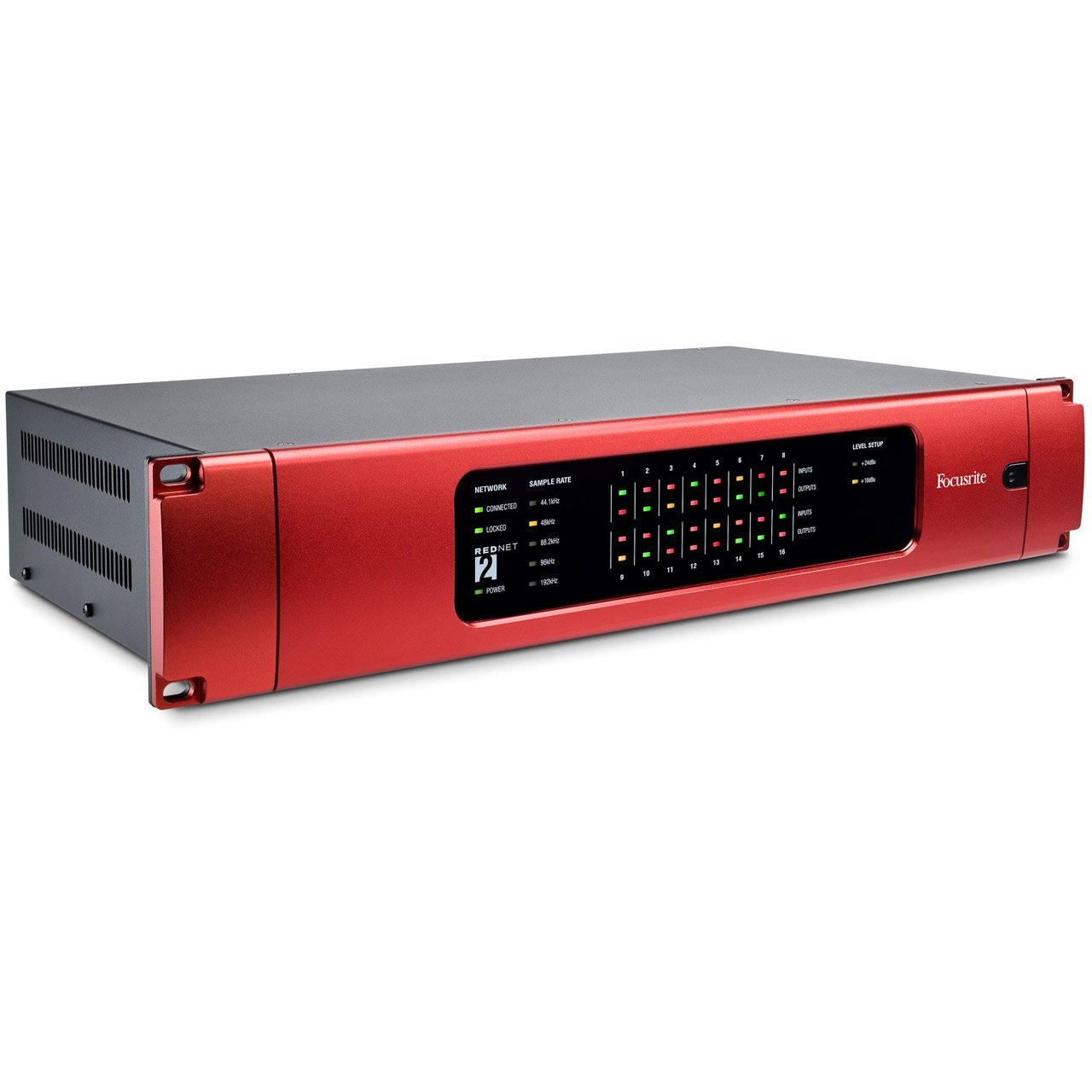 Ethernet Audio Interfaces - Focusrite RedNet 2 - 16-channel A-D/D-A Ethernet Audio Interface