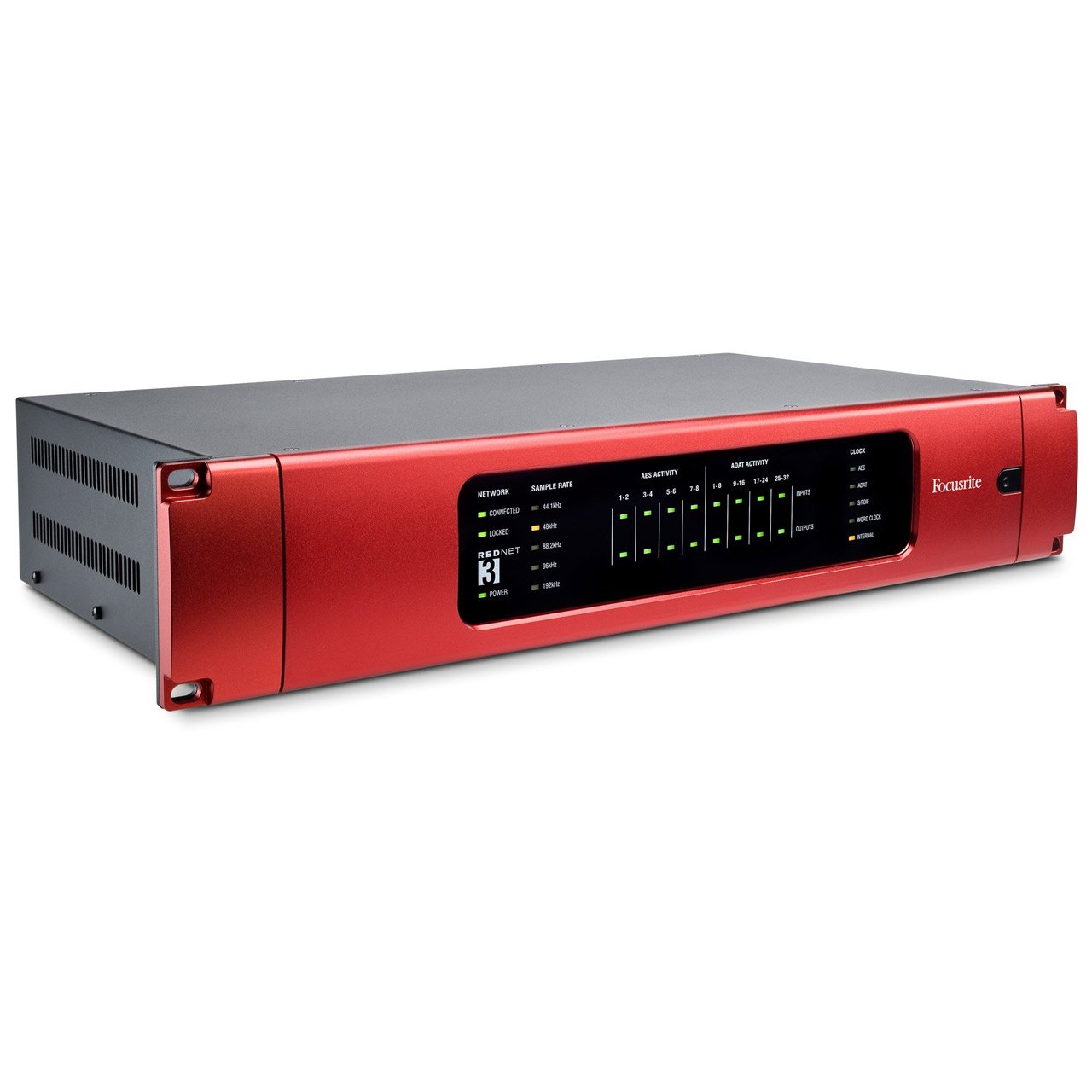 Ethernet Audio Interfaces - Focusrite RedNet 3 - 32-channel Digital I/O Ethernet Audio Interface