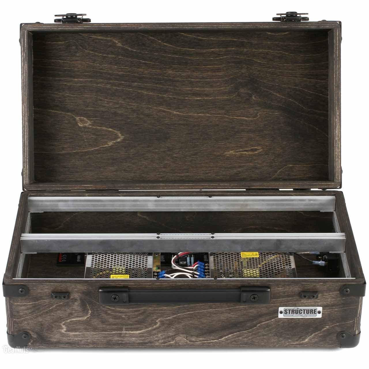 Eurorack Accessories - Pittsburgh Modular Structure EP-208 - Eurorack Travel Case Enclosure