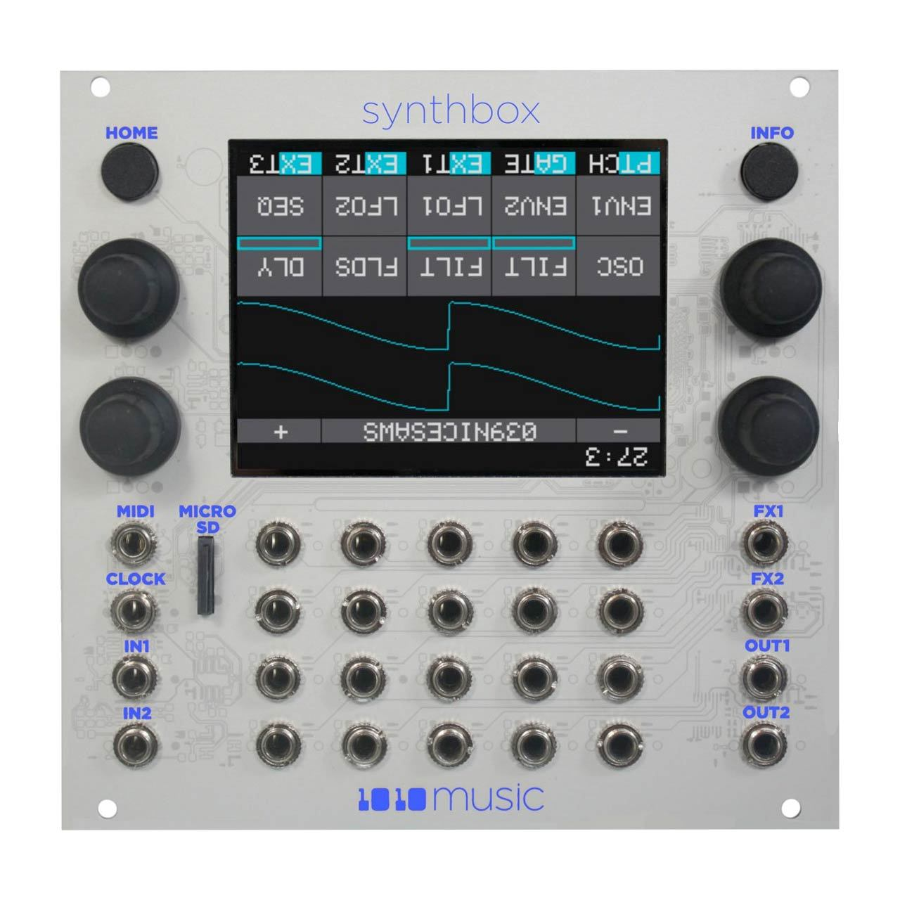 Eurorack Modules - 1010 Music Synthbox – Touchscreen Polyphonic Synthesizer Eurorack Module