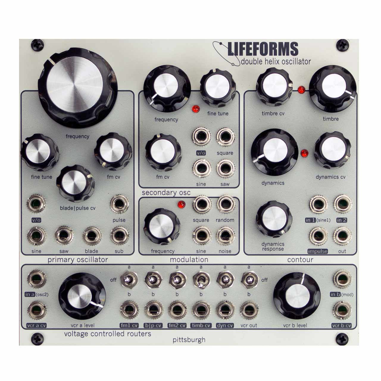 Eurorack Modules - Pittsburgh Modular Lifeforms Double Helix Oscillator