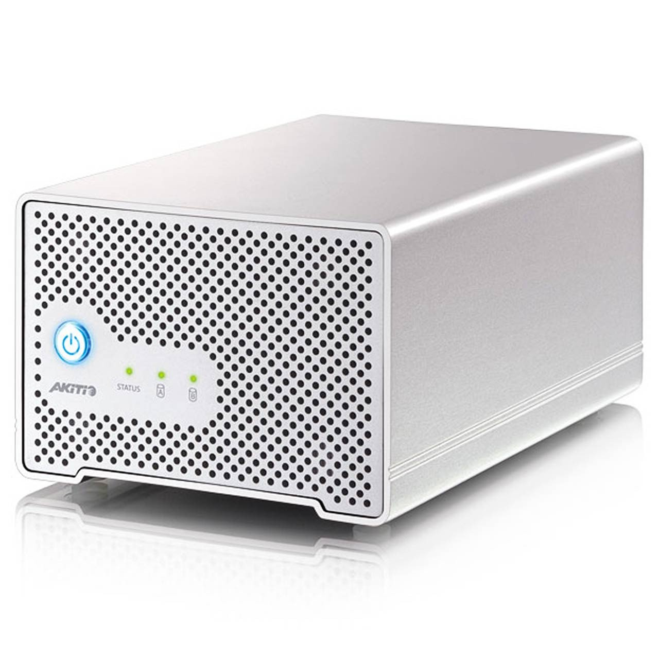 "External Hard Drives - Akitio Neutrino Thunder Duo 2.5"" Dual Bay Thunderbolt Drive"