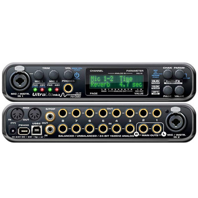 Firewire Interfaces - MOTU UltraLite-mk3 Hybrid USB & Firewire Audio Interface