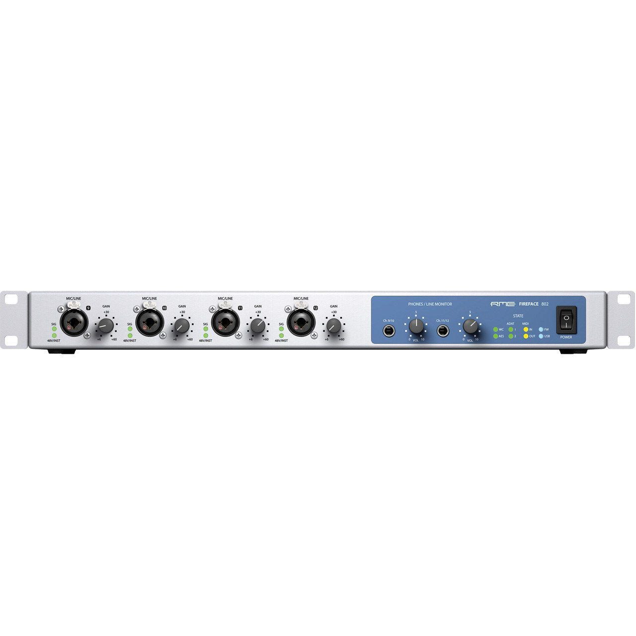 Firewire Interfaces - RME Fireface 802 Firewire And USB Audio Interface