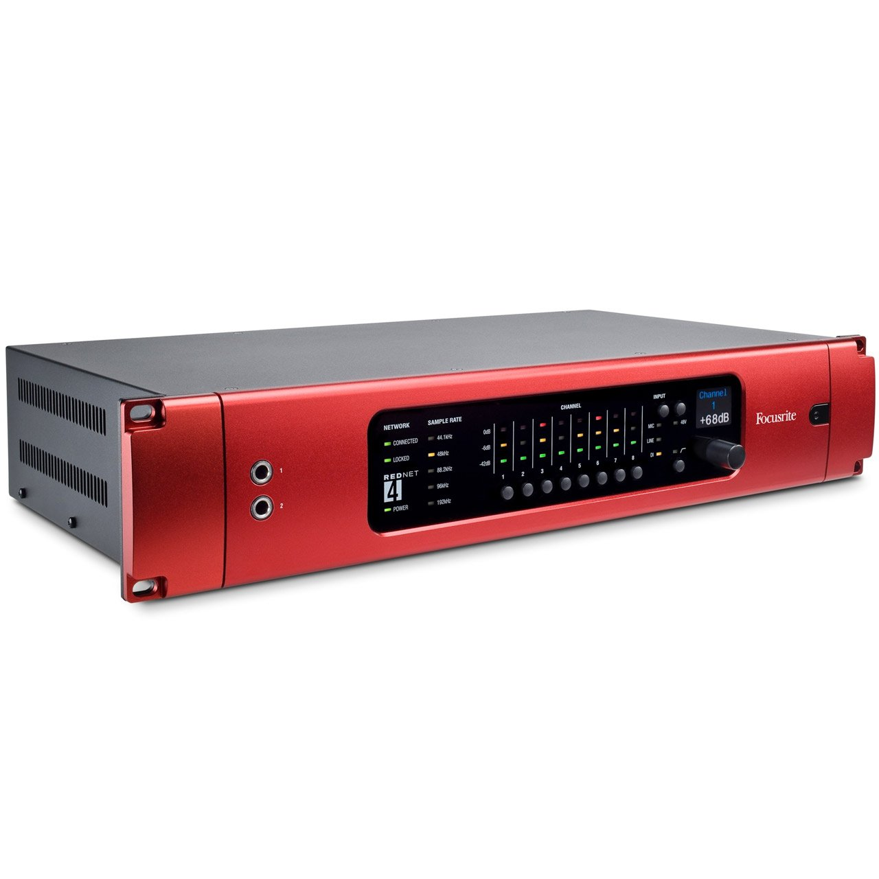 Focusrite RedNet 4 - 8-preamp / Line / DI Ethernet Audio Interface