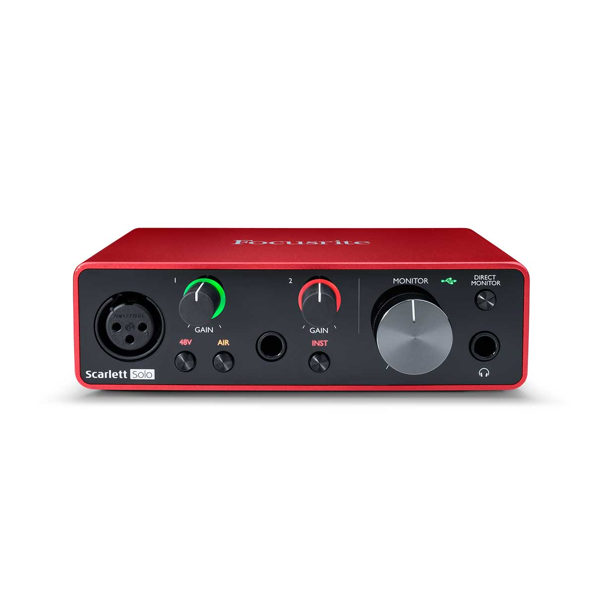 Focusrite Scarlett Solo (Gen 3) 2-in, 2-out USB audio interface