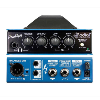 Guitar Accessories - Radial Headload Prodigy Combination Load Box And DI