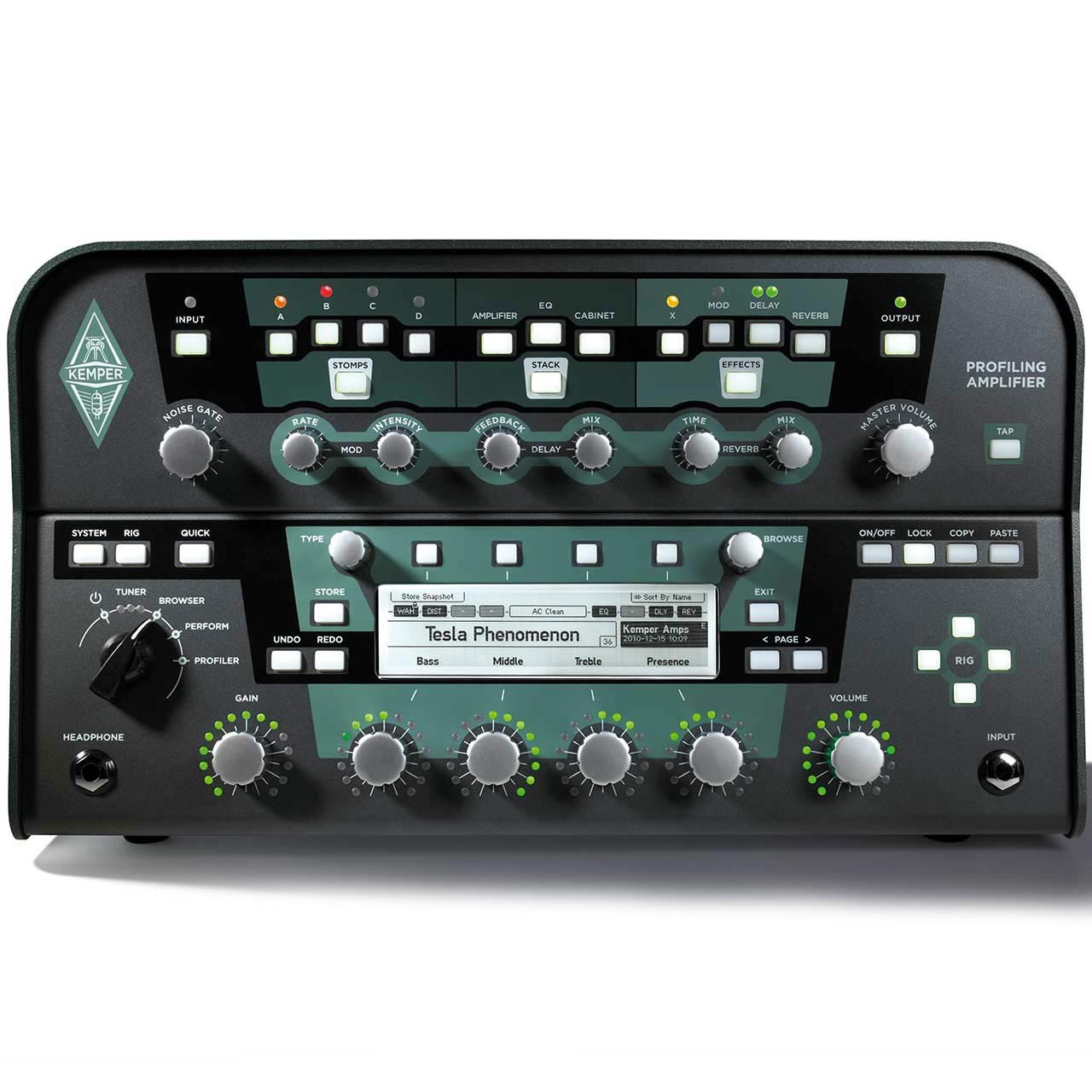 Guitar Amplifiers - Kemper Profiler Head - Profiling Amplifier Black