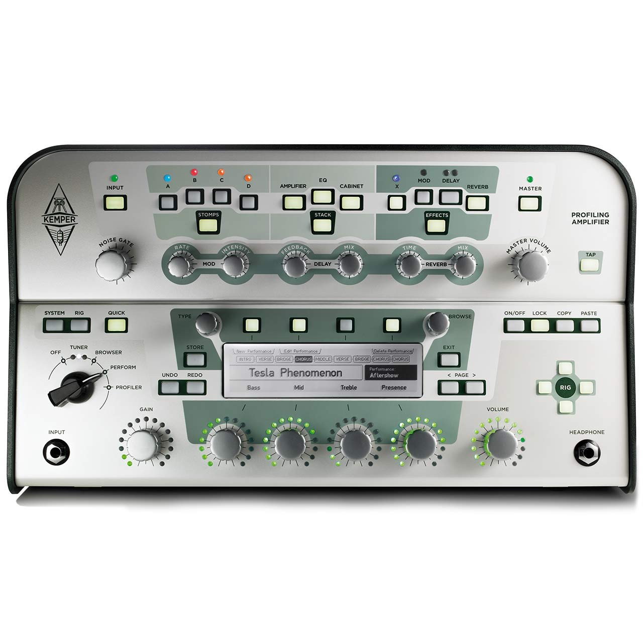 Kemper Profiler Head - Profiling Amplifier White