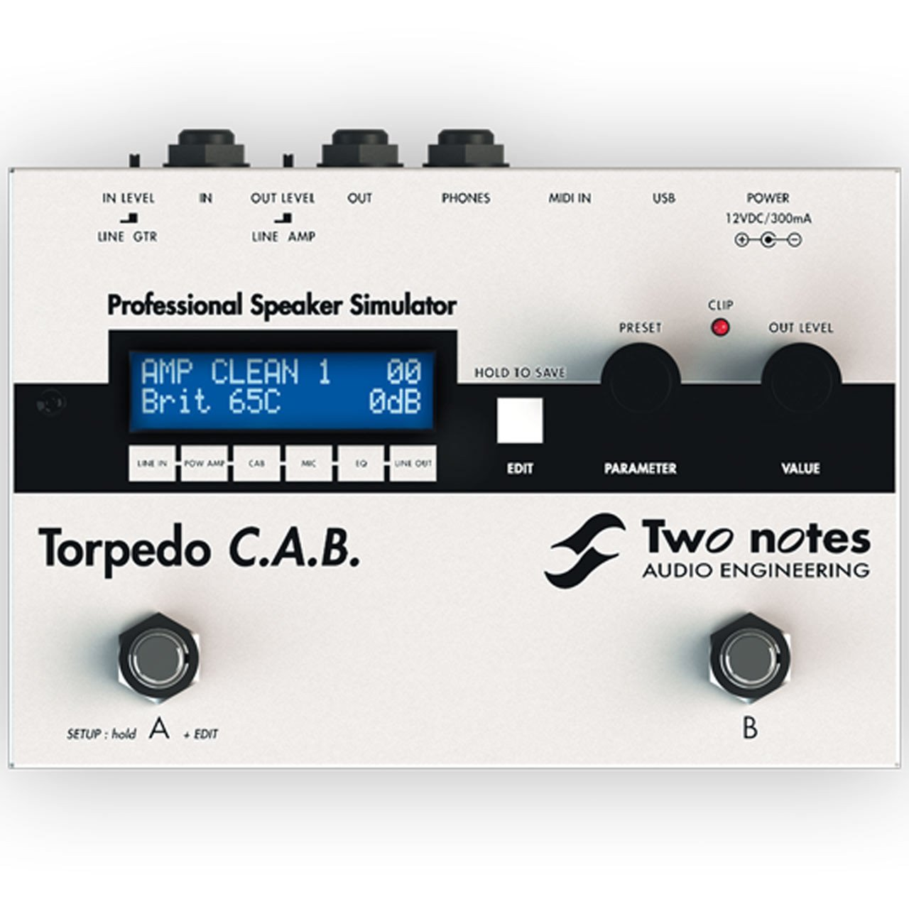two notes torpedo c a b speaker cabinet simulator sounds easy. Black Bedroom Furniture Sets. Home Design Ideas