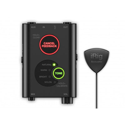 Guitar Audio Interfaces - IK Multimedia IRig Acoustic Stage