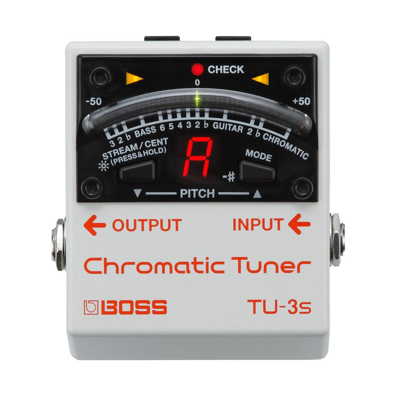 Guitar Tuners - BOSS TU-3S Chromatic Tuner
