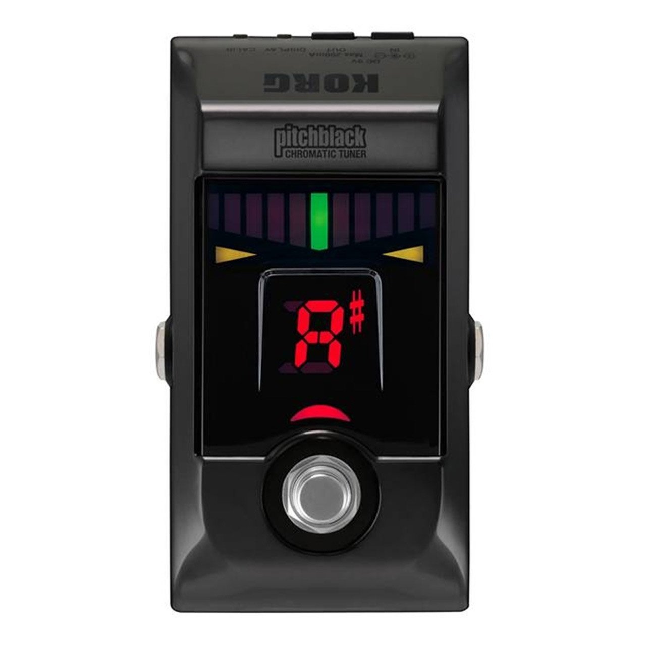 Guitar Tuners - Korg Pitchblack PB-01 Chromatic Guitar Tuner Pedal
