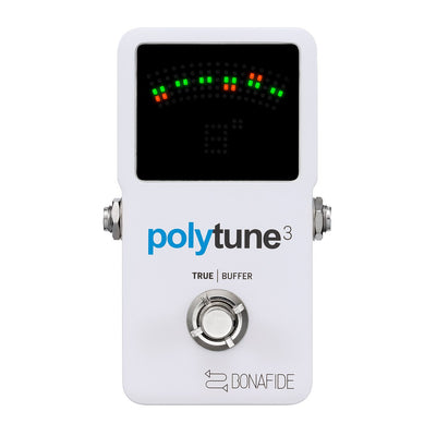 Guitar Tuners - TC Electronic Polytune 3 W/ High Quality BonaFide Buffer