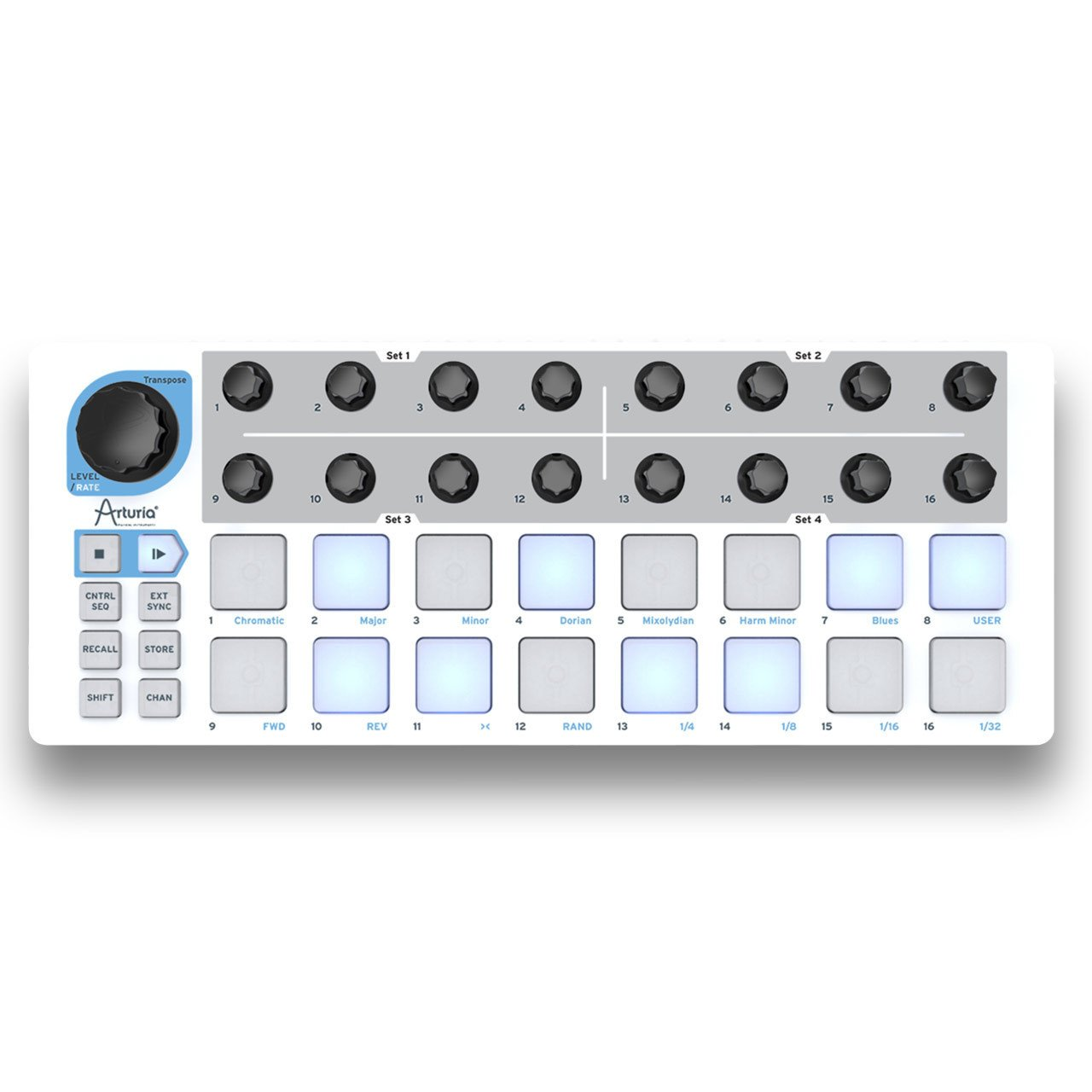 Hardware Sequencers - Arturia Beatstep Portable Pad Controller & 16 Step Sequencer