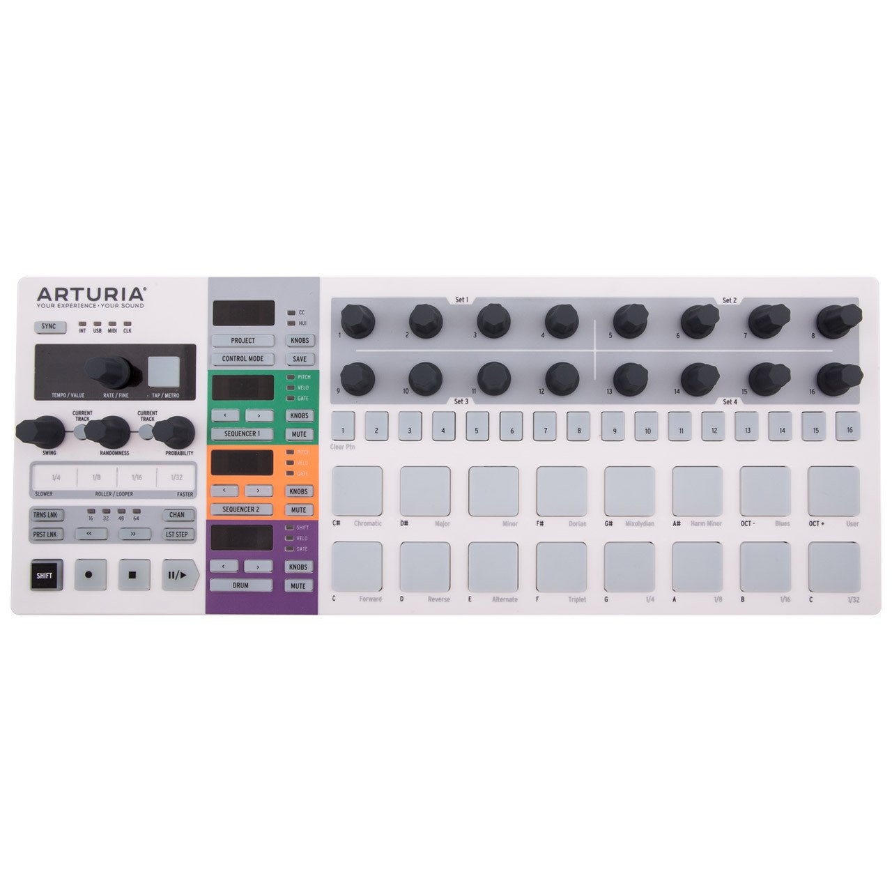 Hardware Sequencers - Arturia Beatstep Pro Performance Sequencer