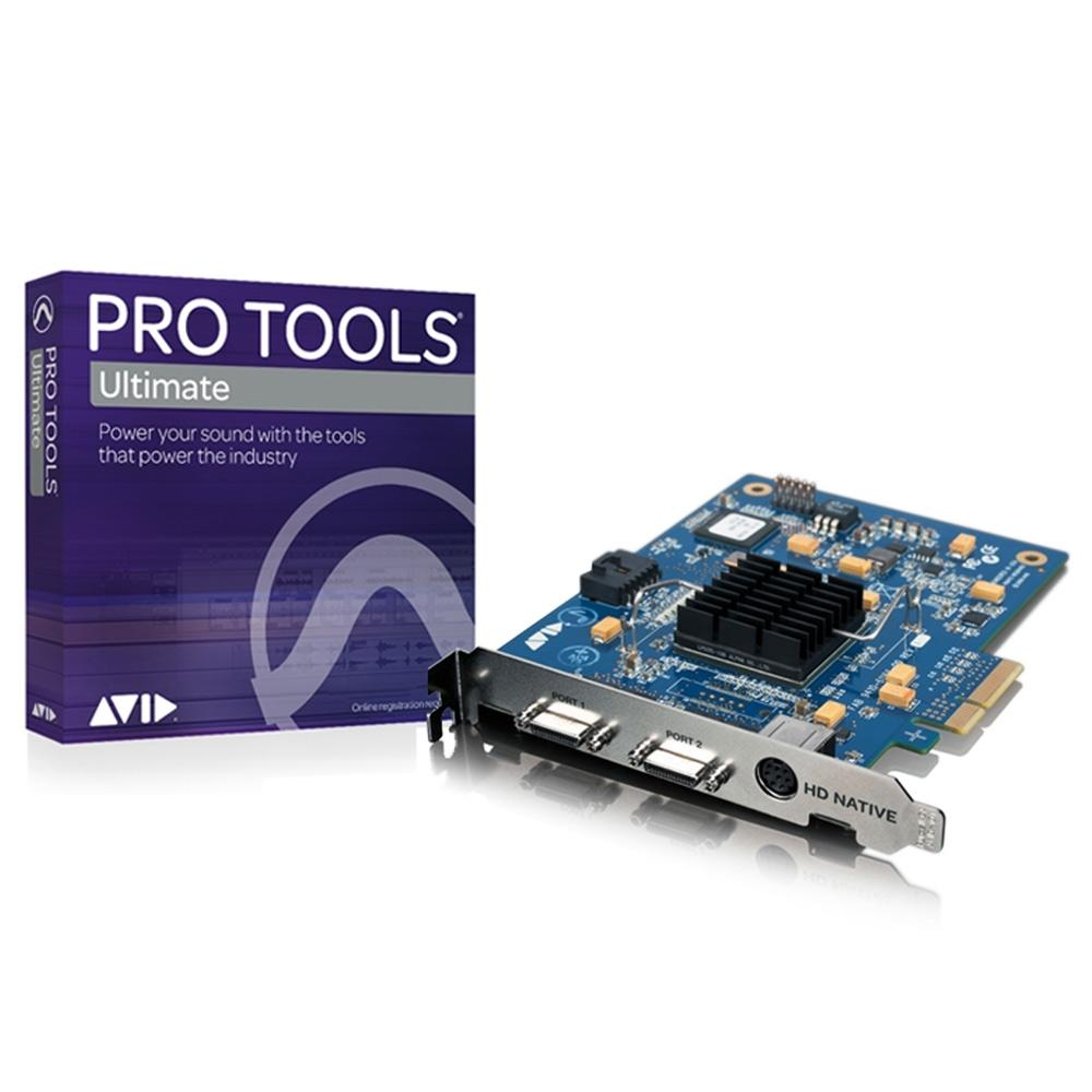 HD Core Systems - Avid HD Native PCIe Core With Pro Tools Ultimate Software