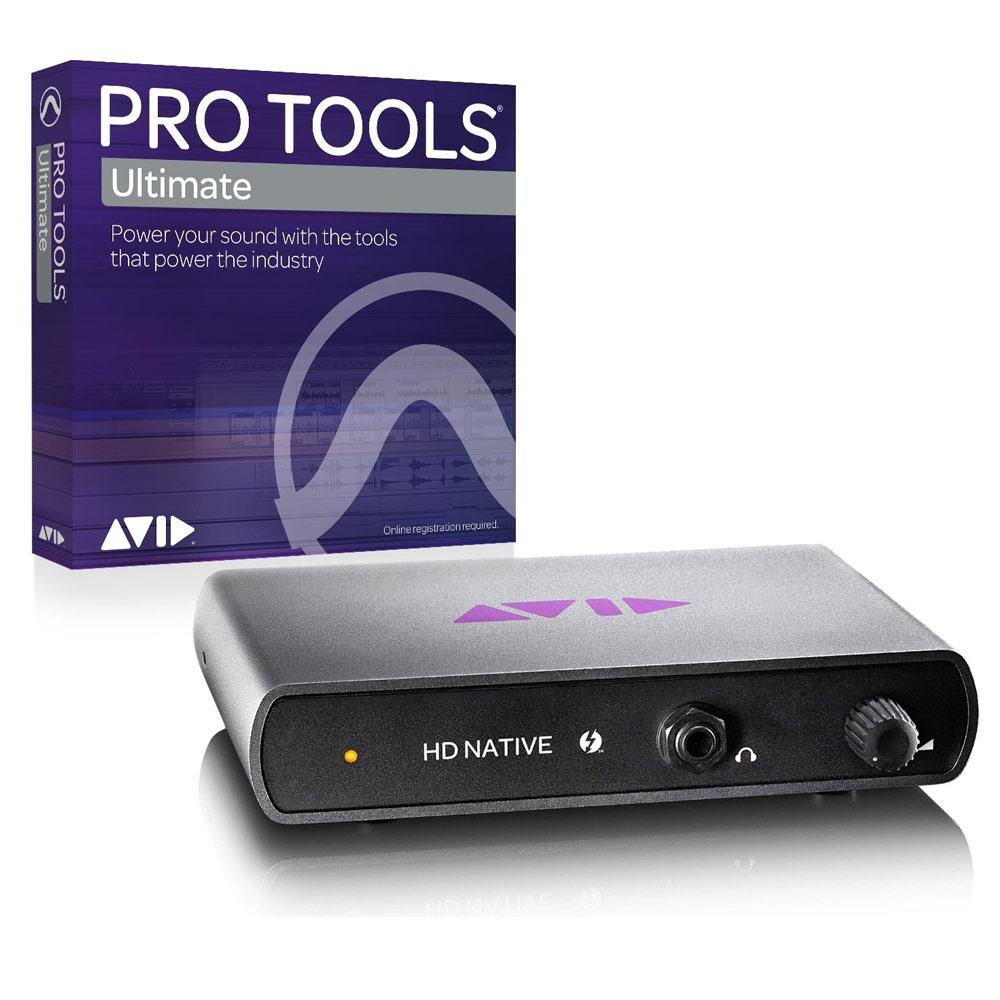 HD Core Systems - Avid HD Native Thunderbolt Core With Pro Tools Ultimate Software