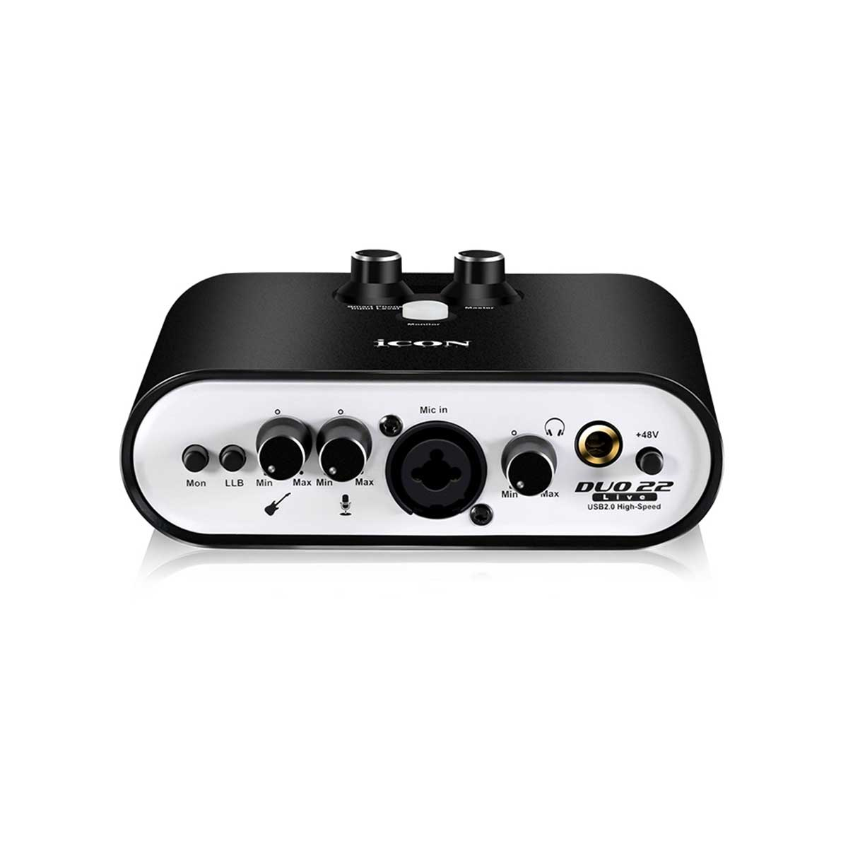 Icon Duo22 Live USB Audio Interface for Computers, Tablets, and Smartphones